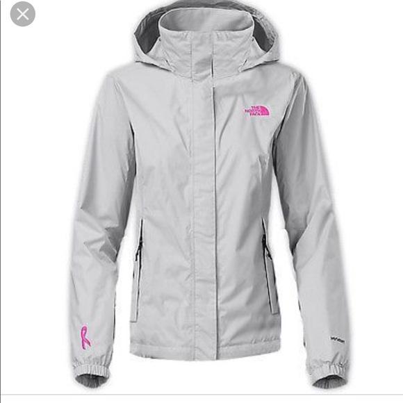e19f5ba25 The North face rain jacket size medium